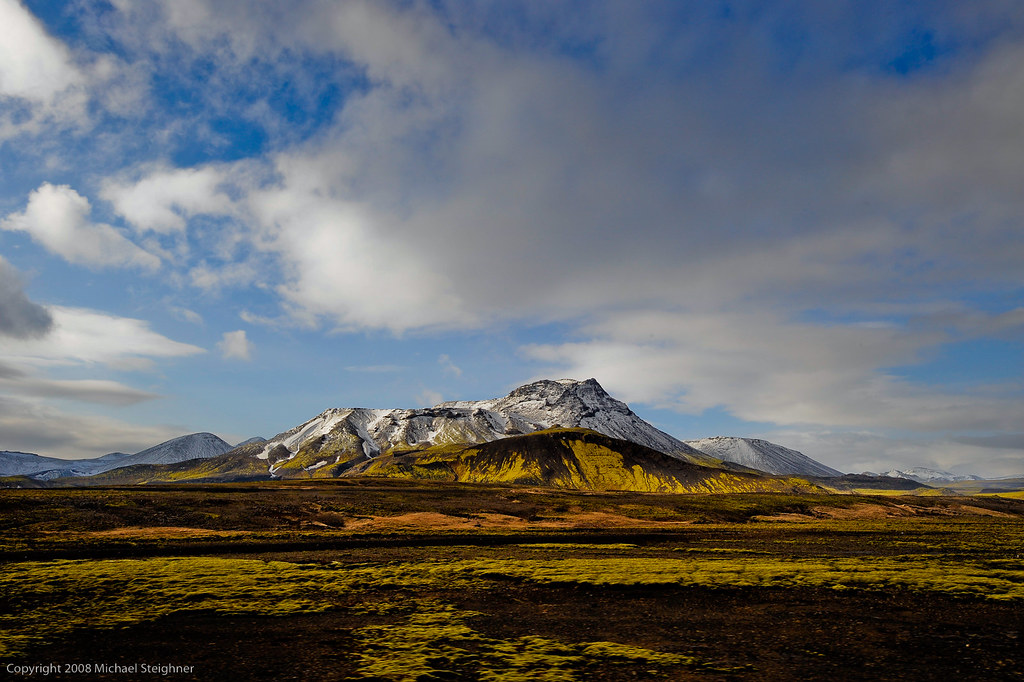 Iceland landscape - from out the window of a moving truck! by MDSimages.com