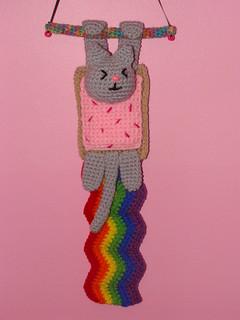 Crochet Nyan Cat scarf - CROCHET | Cat scarf, Crochet scarves, Crochet | 320x240