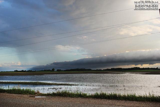 Tornado Warned Storm - SE Sask/SW MB - July 13, 2013