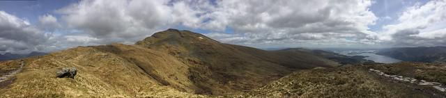 view of Ben Lomond from Ptarmigan Ridge