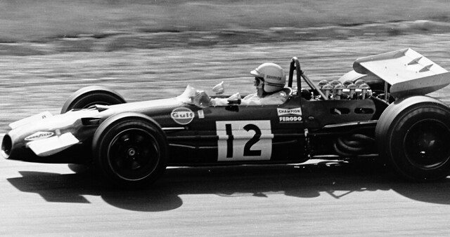 1969 Canadian Grand Prix Jack Brabham