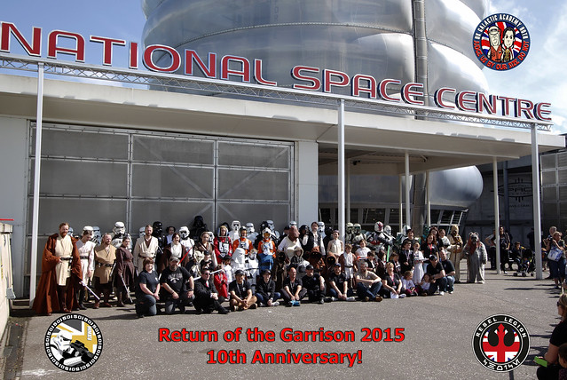 Return of the Garrison 2015 Group Photo