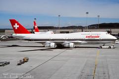 HB-IGF Swissair Boeing 747-357
