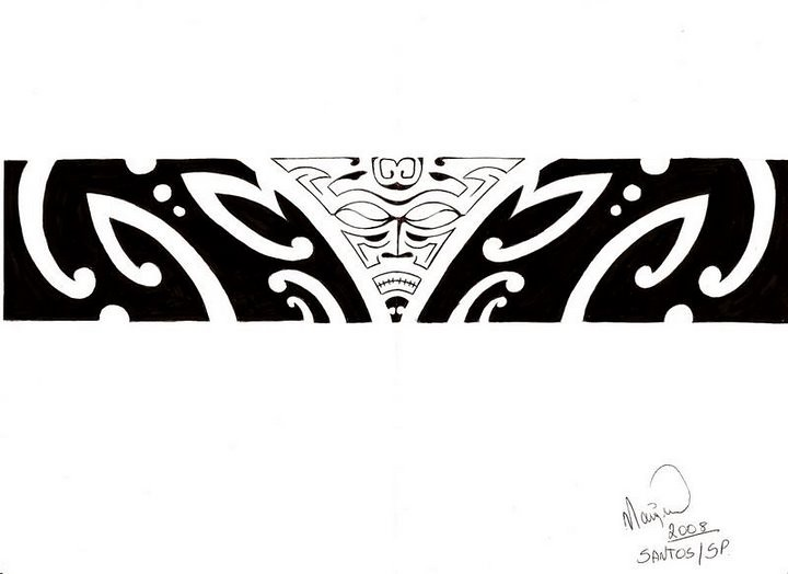 Tattoo Bracelete Maori Kirituhi Do Alemao Bbb 7 Diego Alem Flickr