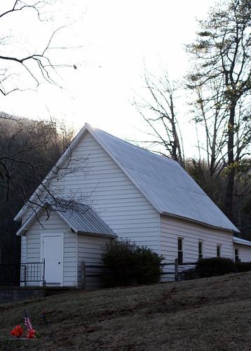 sunset mountains church rural nc worship flag south northcarolina southern baptist whitechurch mcdowellcounty pineygrovebaptistchurch davidhopkinsphotography