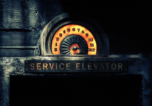 Disney - Service Elevator Detail