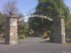 Easton Heights Cemetary Gates