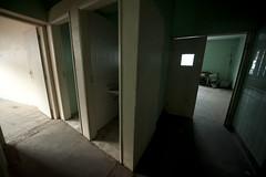 Ala cirúrgica, atual entrada da sala do linóleo