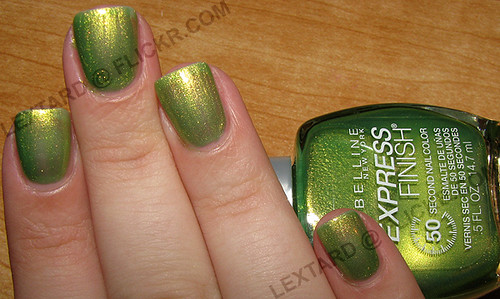 Go Green Express >> Maybelline Express Finish Go Go Green 2 Coats No Top Co