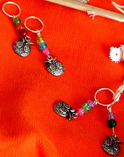 owl stitch holders :: from vonnie to me