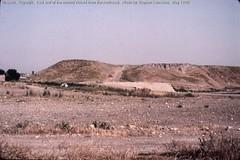 Nineveh.  Kuyunjik.  East end of the mound viewed from the northeast. | by StevanB