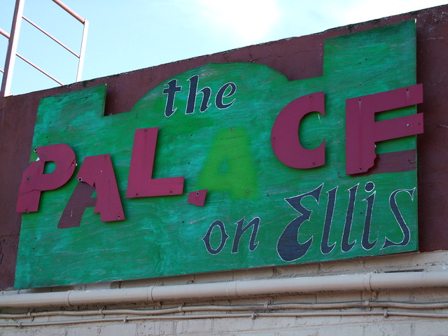 The Palace on Ellis - sign detail