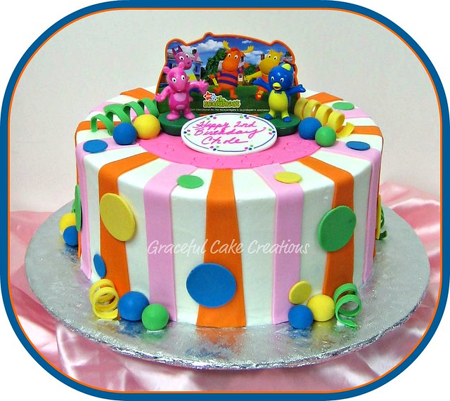 The Backyardigans Birthday Cake