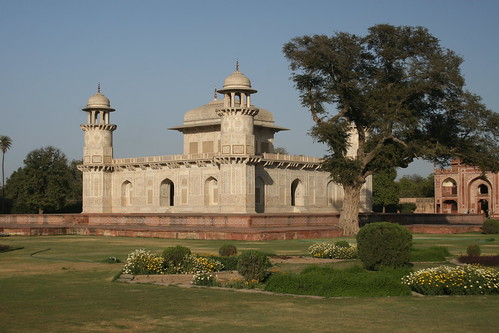 The Baby Taj in its beautiful grounds Agra | Anne Roberts ...