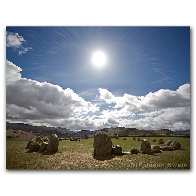 Sun Worship. Castlerigg Stone Circle