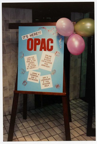 Introduction of OPAC.