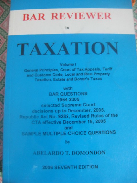 Domondon Tax Reviewer | fasabio | Flickr