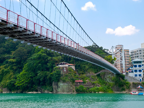 Bitan Suspension Bridge 碧潭吊橋 | by olvwu | 莫方