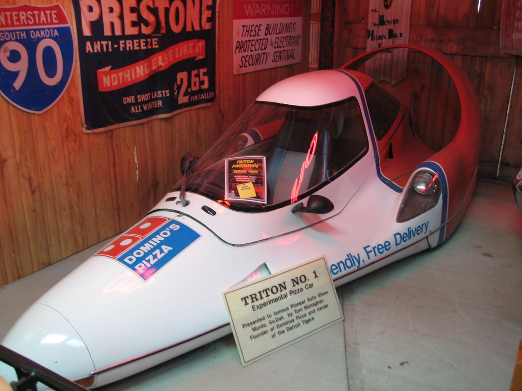 Pioneer Auto Group >> Experimental Pizza Delivery Car At The Pioneer Auto Show Flickr