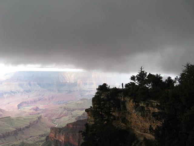 Storm at North Rim