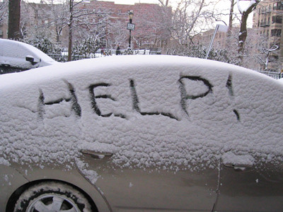 Image result for snowy car