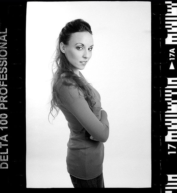 portrait shoot, on film