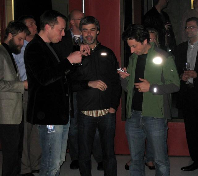 Elon, Larry, and Sergey