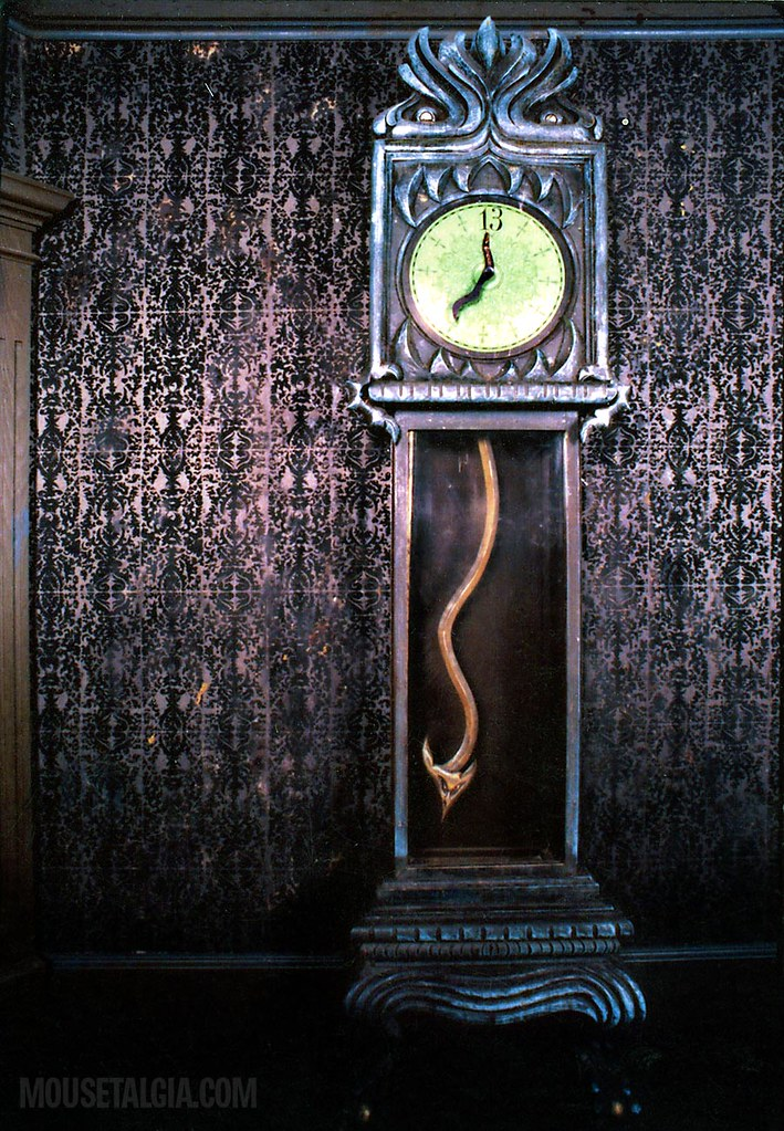Haunted Mansion Grandfather Clock, Disneyland