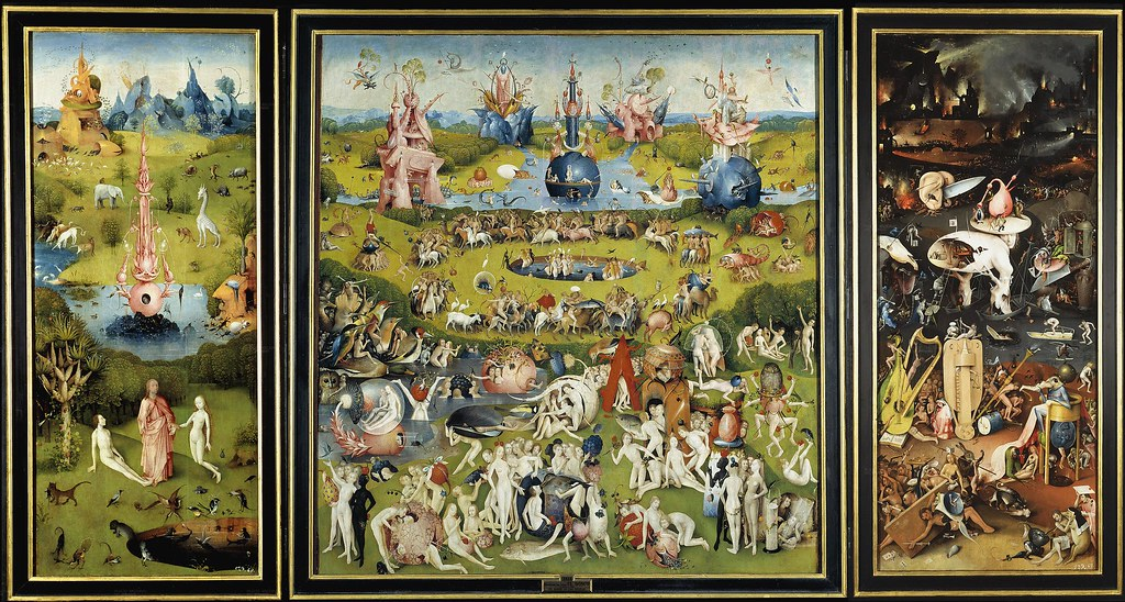 Bosch - The garden of earthly delights