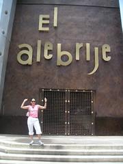 tanya in front of el alebrije