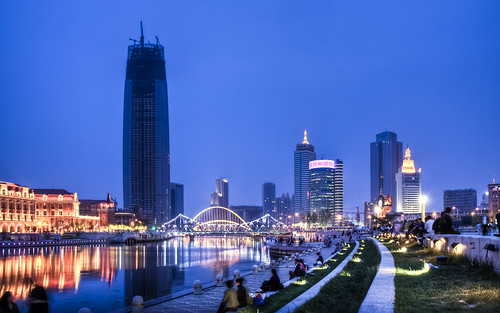 Tianjin from Tianjin Station | by Sarmu