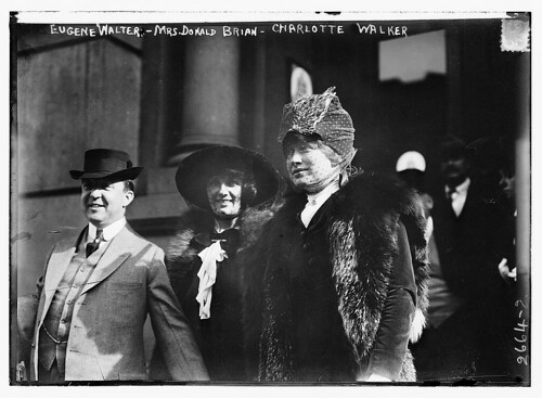 Eugene Walter, Mrs. Donald Brian, and Charlotte Walker  (LOC) | by The Library of Congress