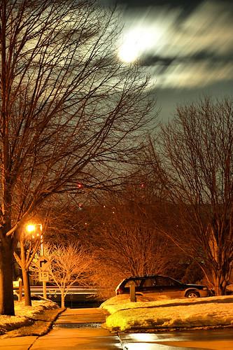 longexposure nightphotography winter sky moon tree minnesota clouds rochester subaru blueribbonwinner zuiko40150mmkit explorehighest102