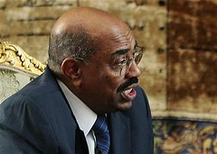 Sudan President Omar Hassan al-Bashir in an interview on February 22, 2009. The African leader has dismissed the threats against him by the International Criminal Court (ICC) | by Pan-African News Wire File Photos