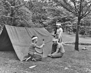 Kids at Camp Long, 1954 | by Seattle Municipal Archives