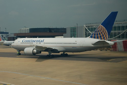 Continental Airlines Boeing 767-200 N68155 | by Jon Ostrower