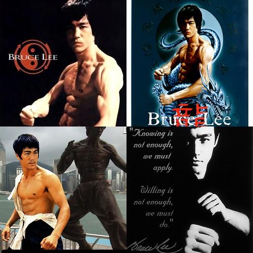 Master-Bruce-Lee | by @Peta_de_Aztlan