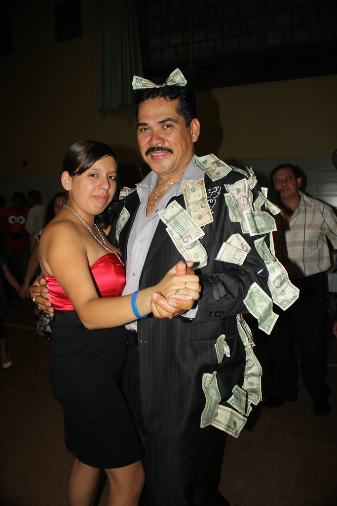 Tio With Nancy in The Dollar Dance