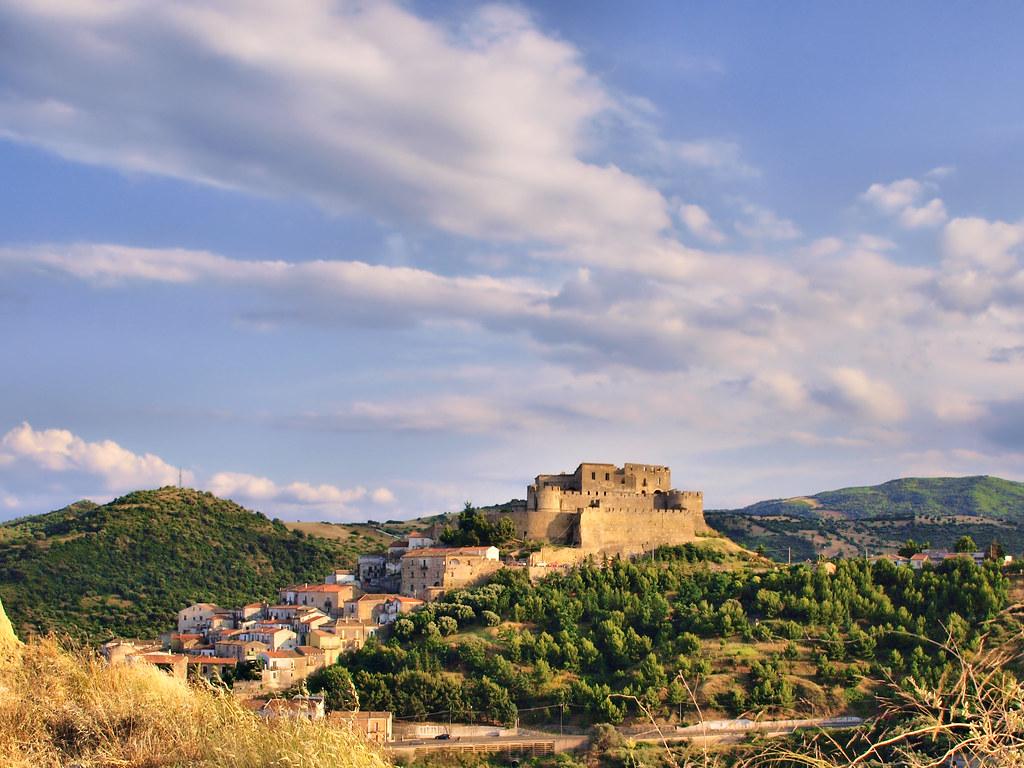 Rocca Imperiale - Panoramica del castello