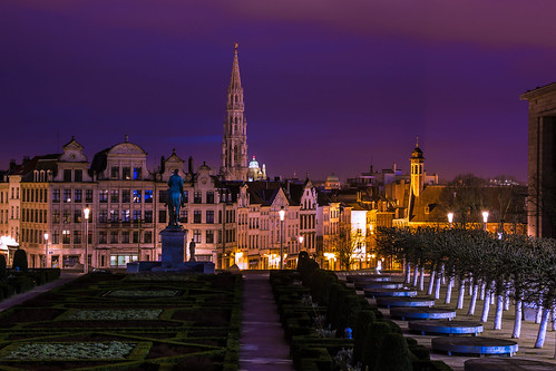pink brussels color gardens clouds sunrise canon landscape eos place geometry bruxelles grand 60d