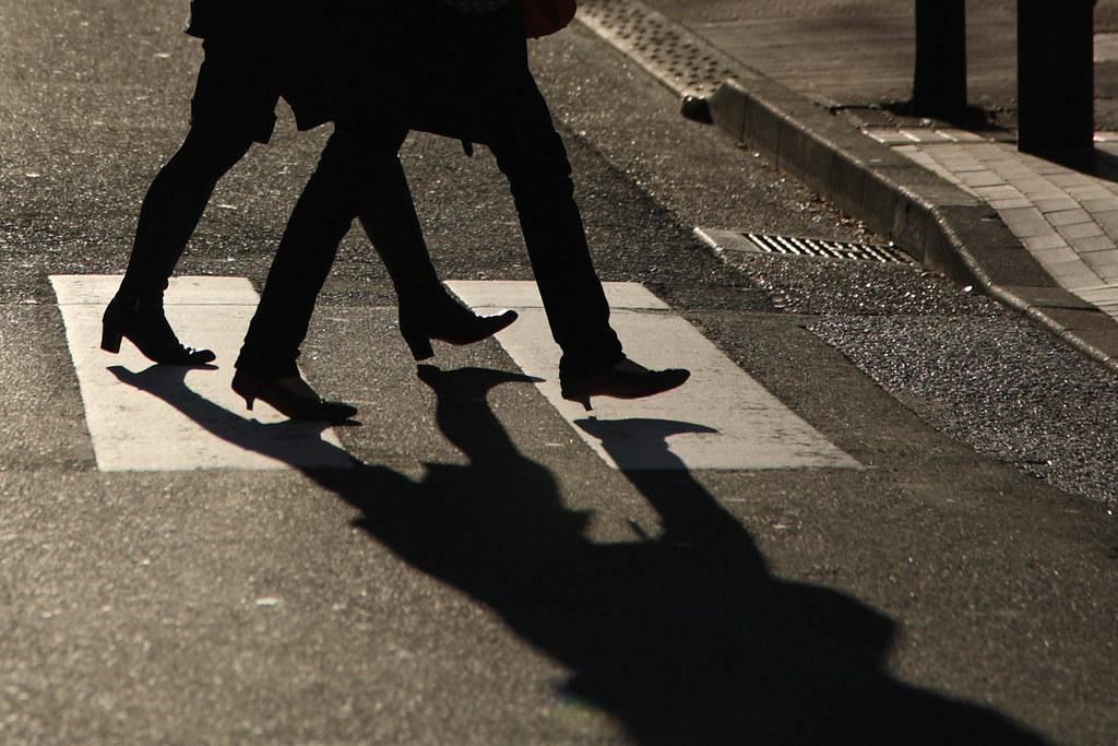 Legs Shadow