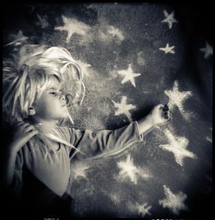 Reaching for a star | by Laura Burlton - www.lauraburlton.com