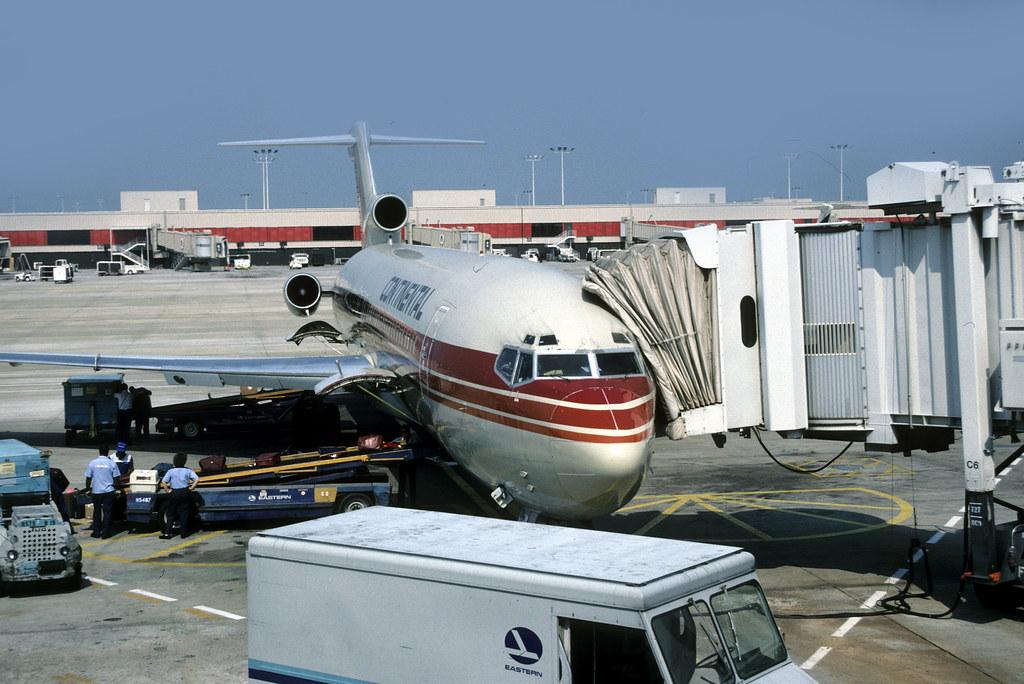21242 Boeing 727: 727-227 N566PE Continental Atlanta Harts… | Flickr