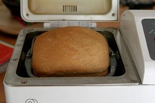 Rye bread - pouffy! | by chrissthegirl