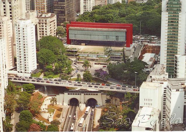 Art Museum Brazil Postcard
