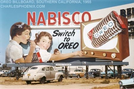 OREO BILLBOARD - L.A. - 1955