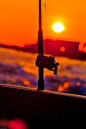 june sunrise 2009 fishingoffshore
