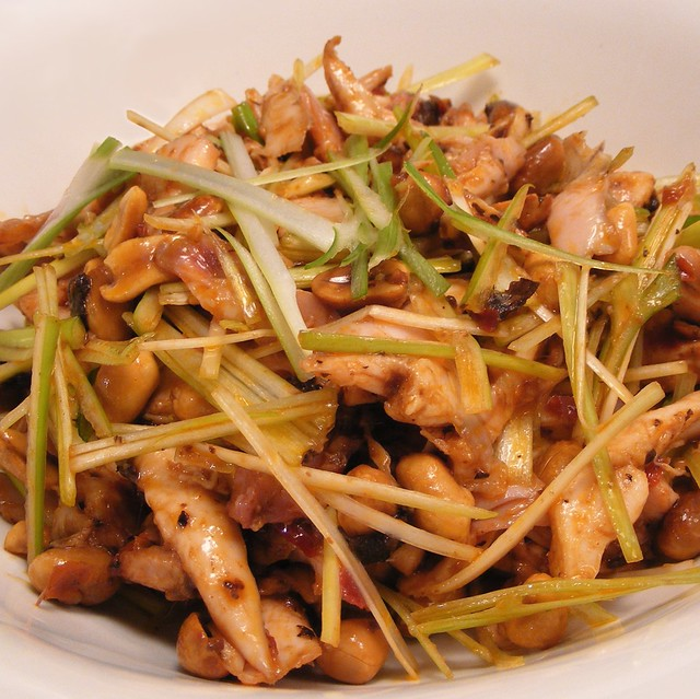 Sichuanese Rabbit Salad   Preparing the rabbit 5 cm piece gi