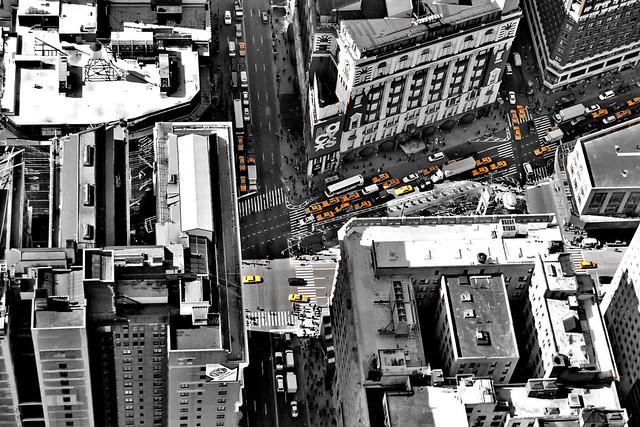 En Nueva York no hay taxis