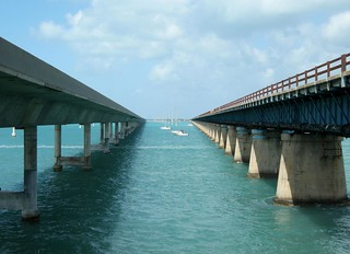 The new & old Seven Mile Bridge | by milan.boers